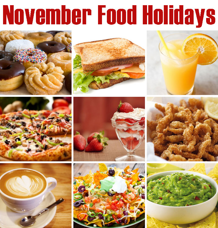 November Food Holidays