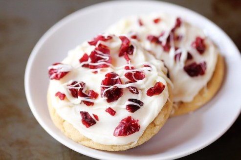 Cranberry Bliss Cookies recipe