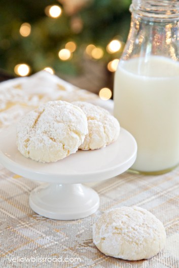 Easy Four-Ingredient Snowball Cookies recipe