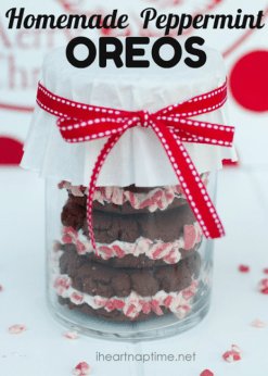 Homemade Peppermint Oreos recipe