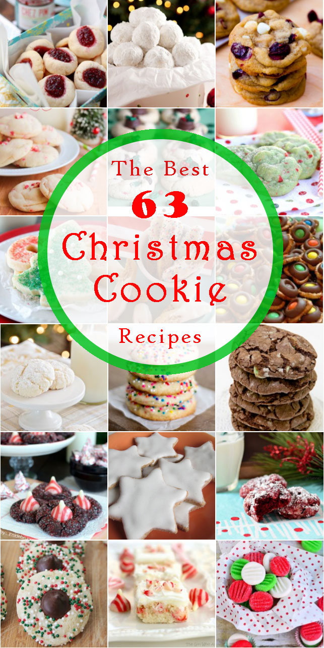 The best 63 Christmas cookie recipes