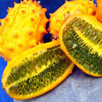 Top 15 exotic fruits - #1 African Horned Cucumber