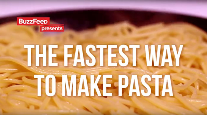 The Fastest Way To Cook Pasta