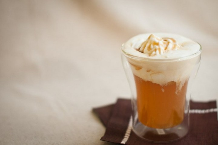 Hot Carmel Apple Cider recipe