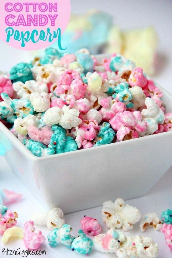 Cotton Candy Popcorn Recipe