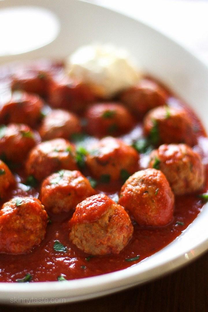 Crock Pot Italian Turkey Meatballs Recipe
