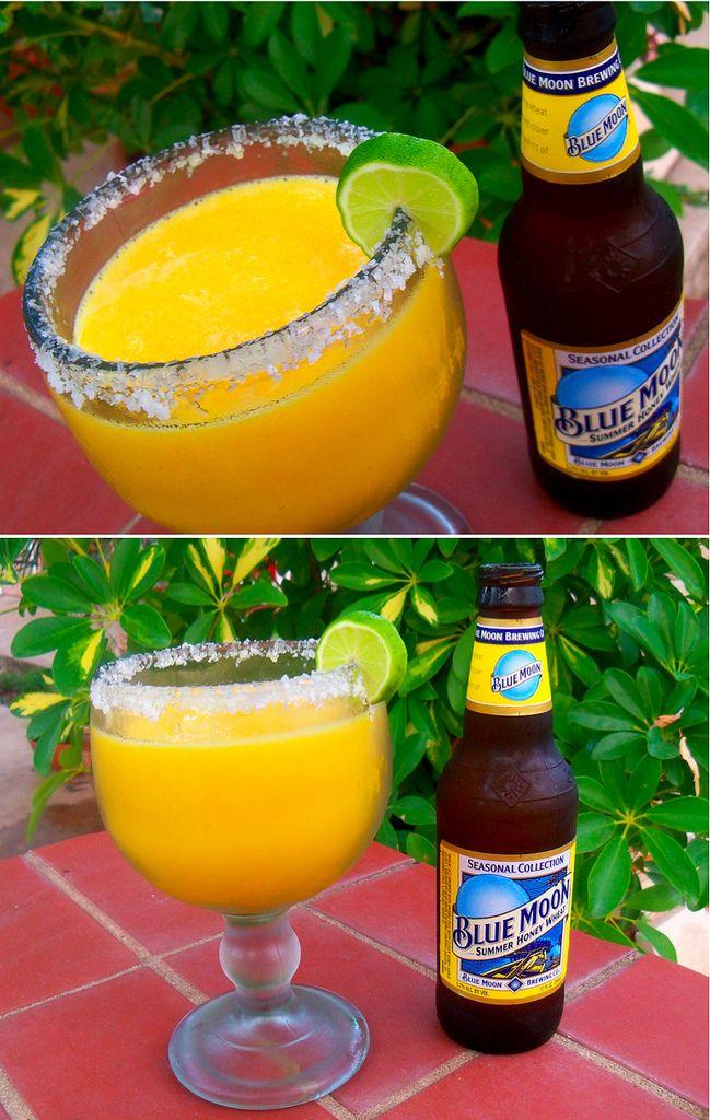 Blue Moon Mango Margaritas recipe