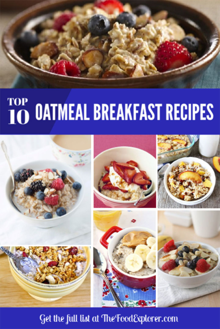 Top 10 Healthy Oatmeal Breakfast Recipes