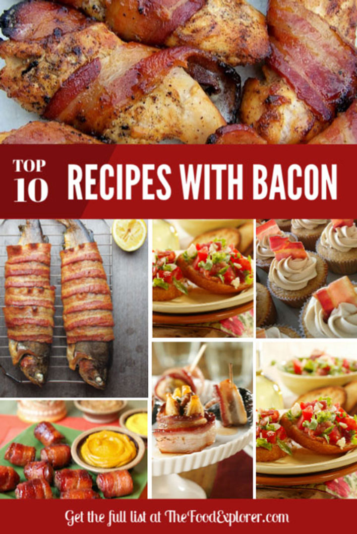 Top 10 Bacon Recipe Ideas