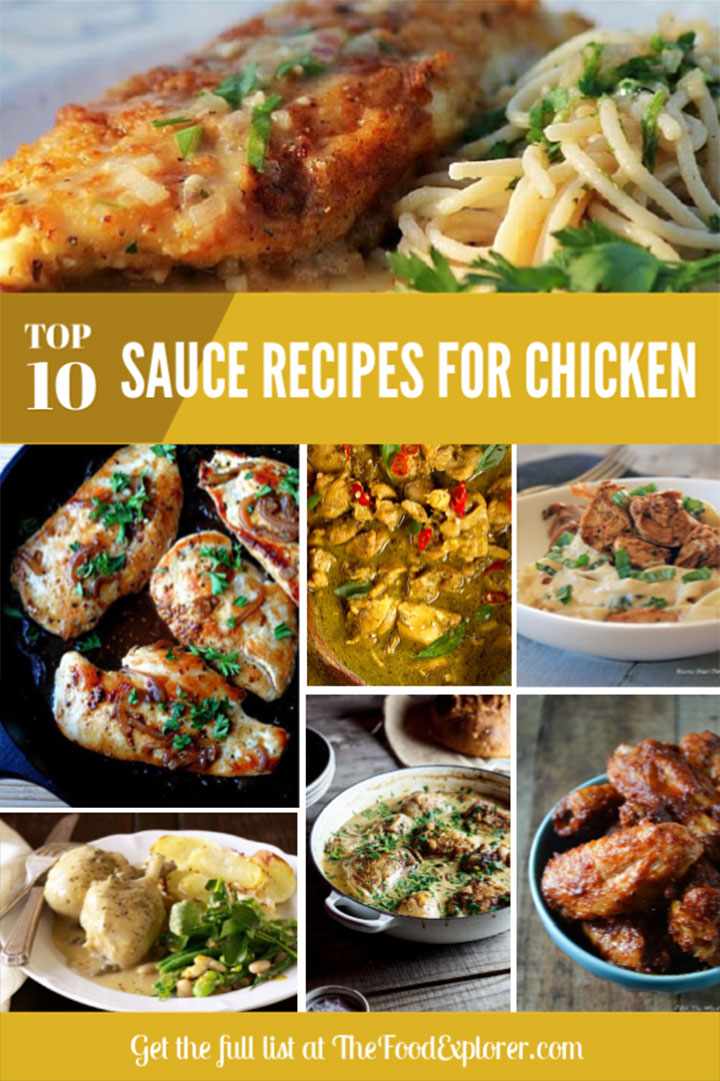 Top 10 Delicious Sauce Recipes for Chicken