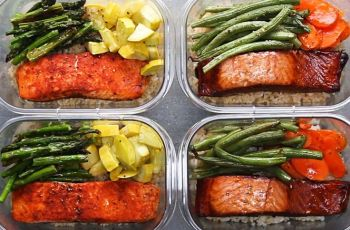 Salmon with Vegetables recipe