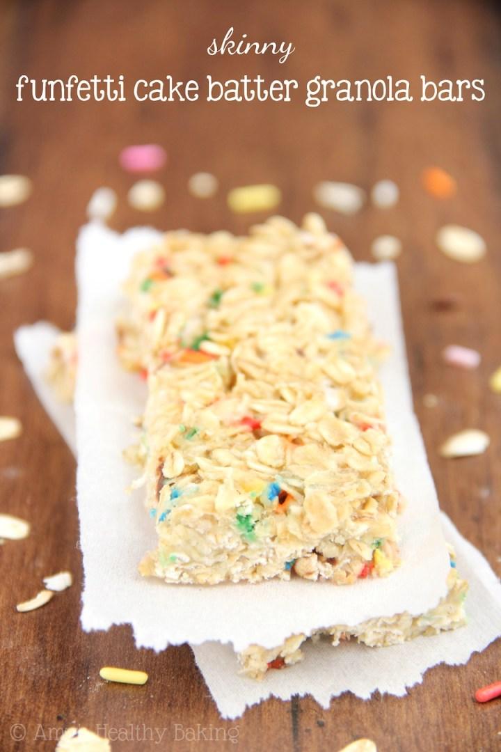 http://amyshealthybaking.com/blog/2014/04/25/skinny-funfetti-cake-batter-granola-bars/