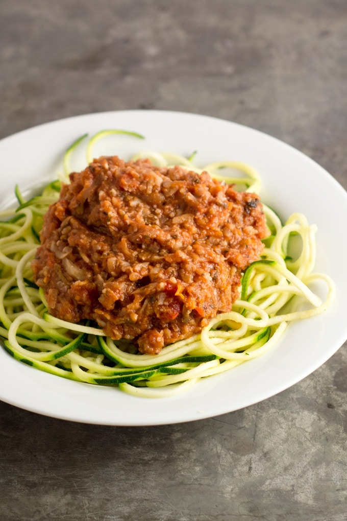 http://eatwithinyourmeans.com/vegetable-bolognese/