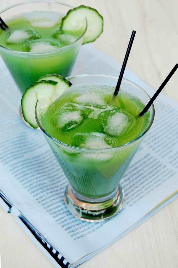 Cucumber-Cilantro Margarita recipe