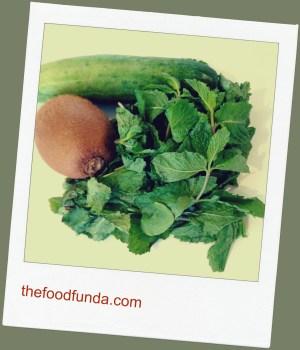 Kiwi cucumber mint