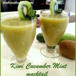 Kiwi Cucumber Mint Mocktail