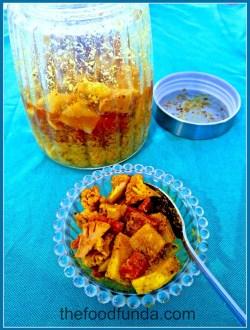 gajar gobhi shaljam pickle