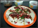 Phalahari potato dahi vada
