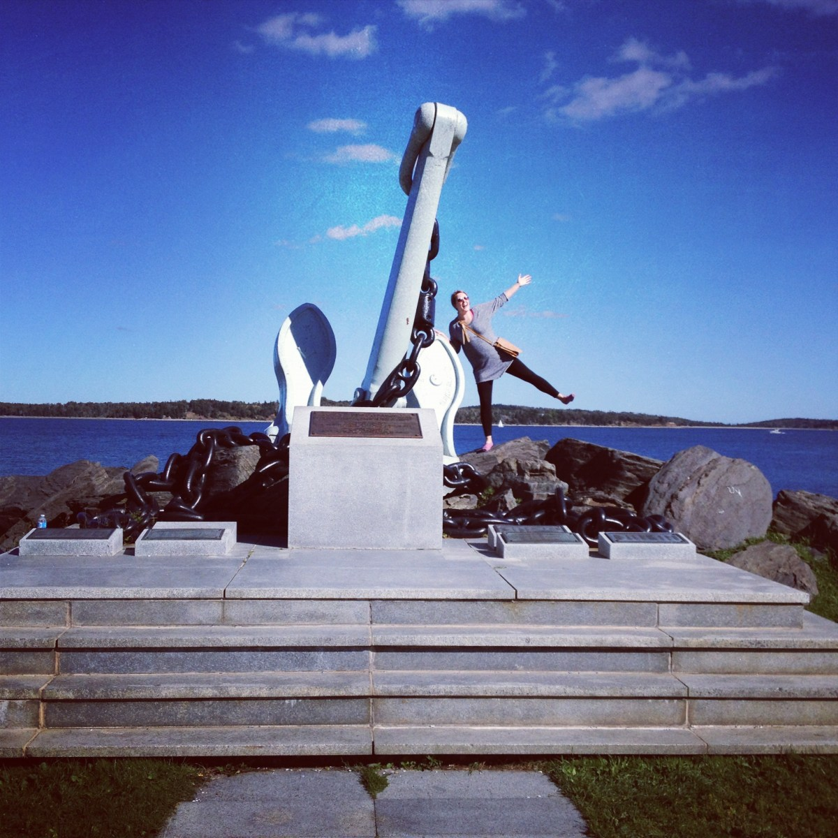 Exploring Point Pleasant Park during my first week in Halifax!