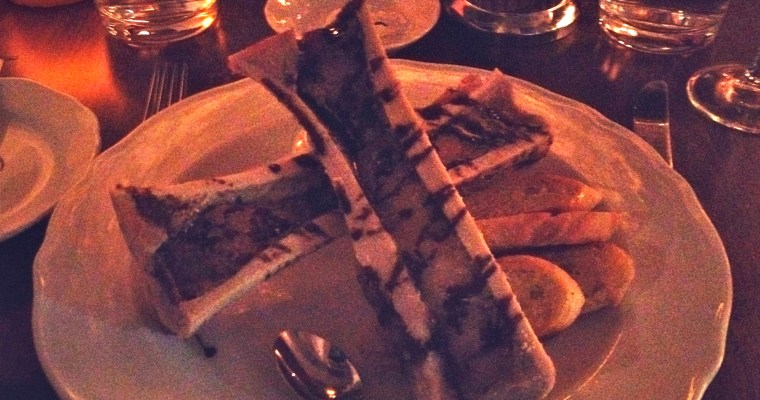 Dinner at Bistro Le Coq, Halifax