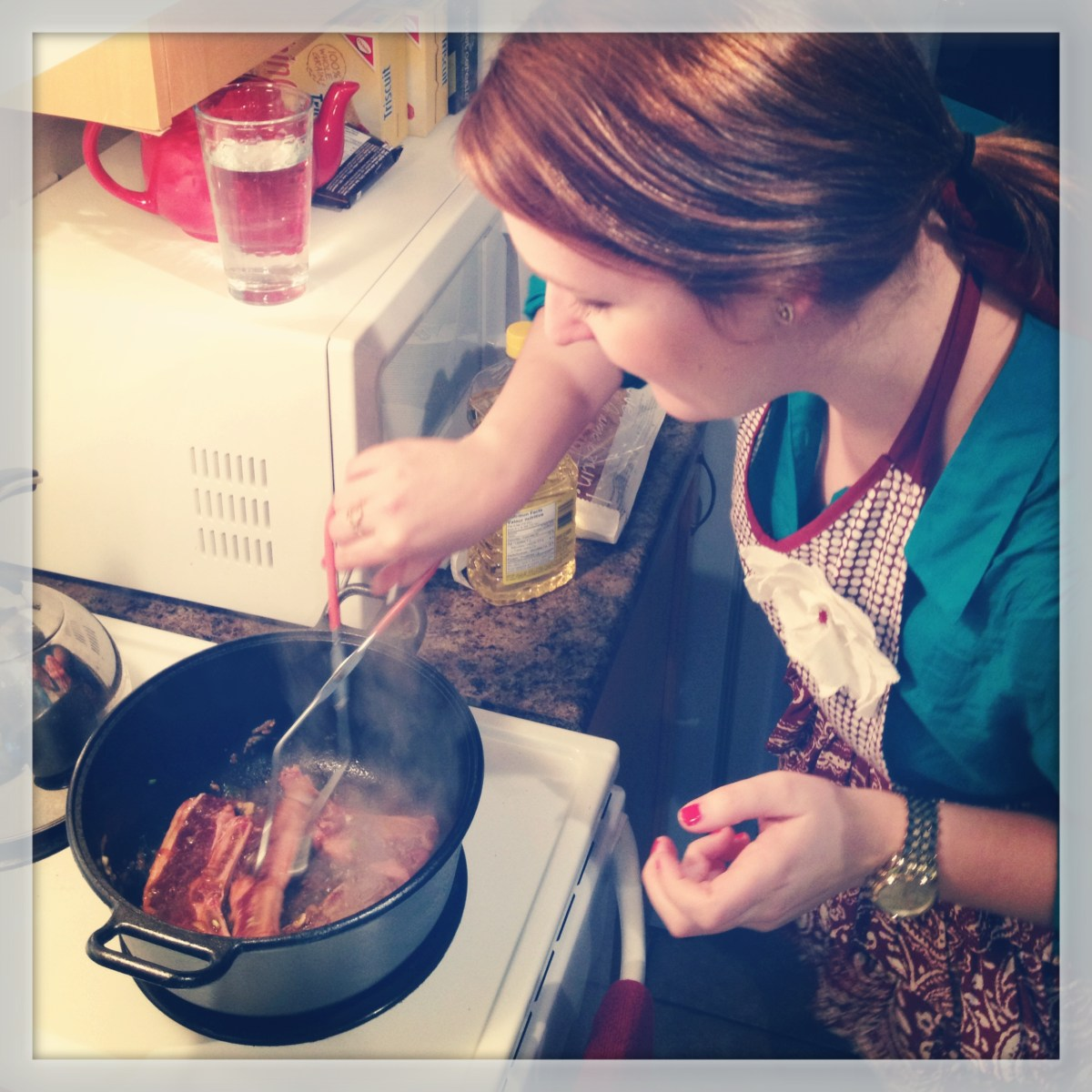 FW FEB- cooking ribs