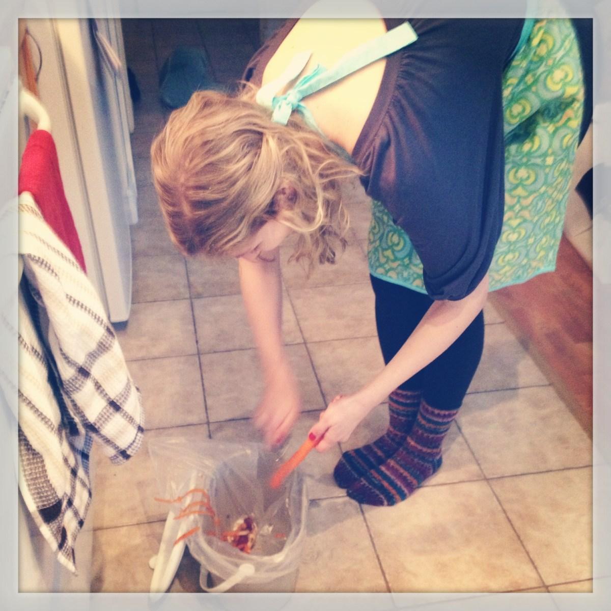FW FEB- Erin peeling carrots