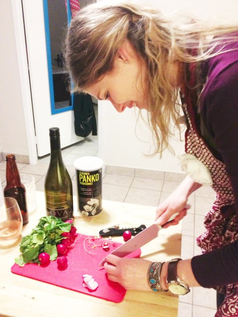 Erin and Radishes