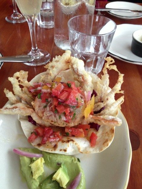 Soft Shell Crab Taco