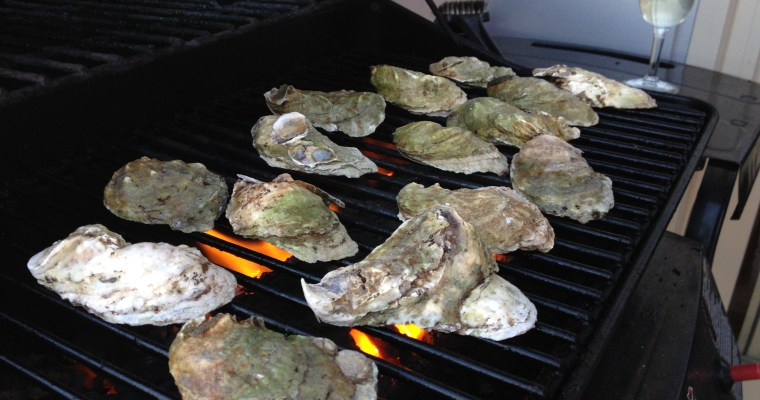 Barbecued Oysters Don't Shuck: May Cover Recipe Challenge