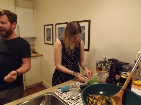 Erin chopping