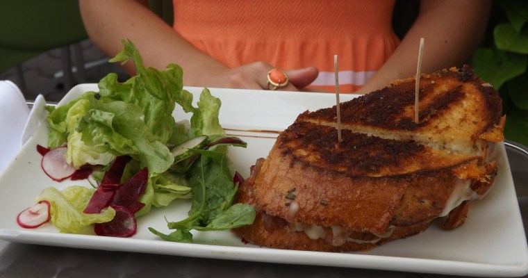Lunch at Terre Rouge Bistro Marche: Charlottetown, PEI