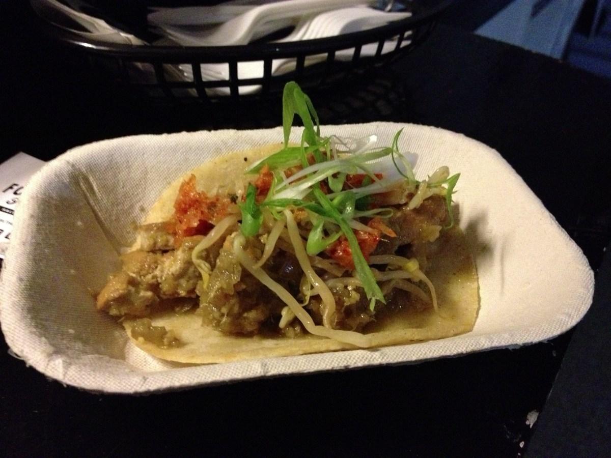 Korean Tofu Taco