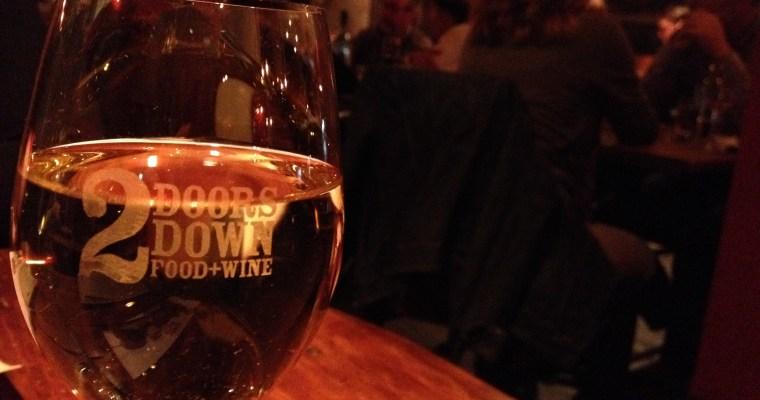 Dinner at 2 Doors Down: Halifax
