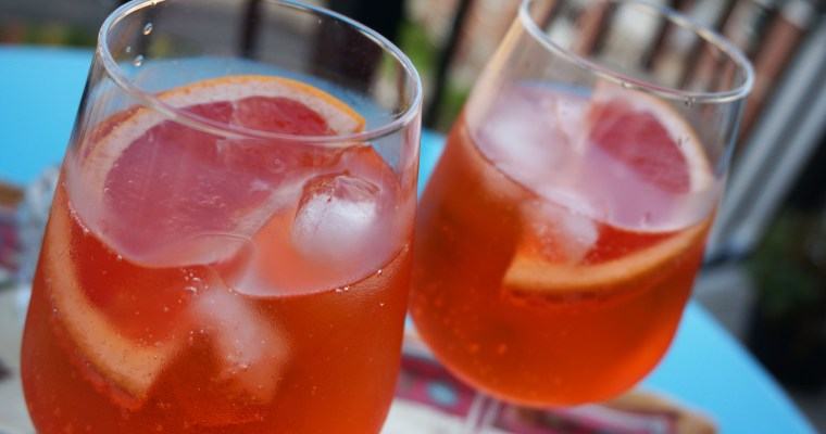 Blood Orange Aperol Spritz Recipe + A History