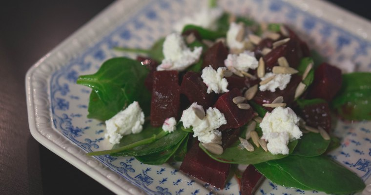 Why the fuck am I so bad at recipe writing? + A loose Beet Salad recipe
