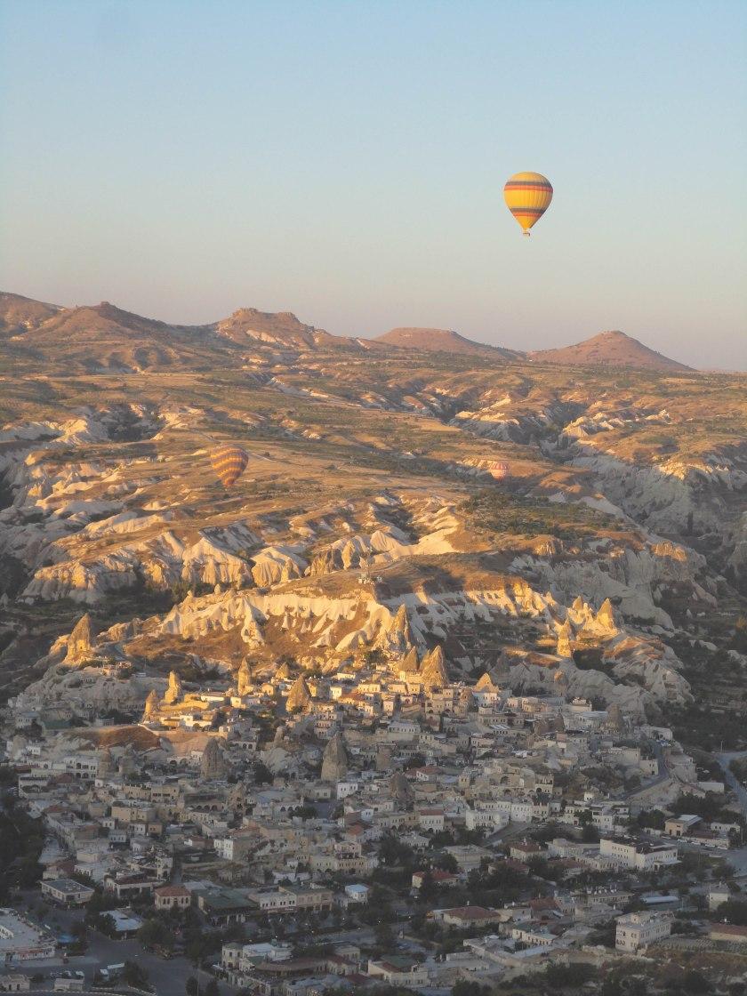 Sunrise in Cappadocia.