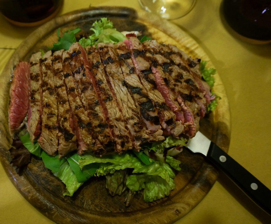 Florentine steak at Osteria Tripperia Il Magazzino in Florence