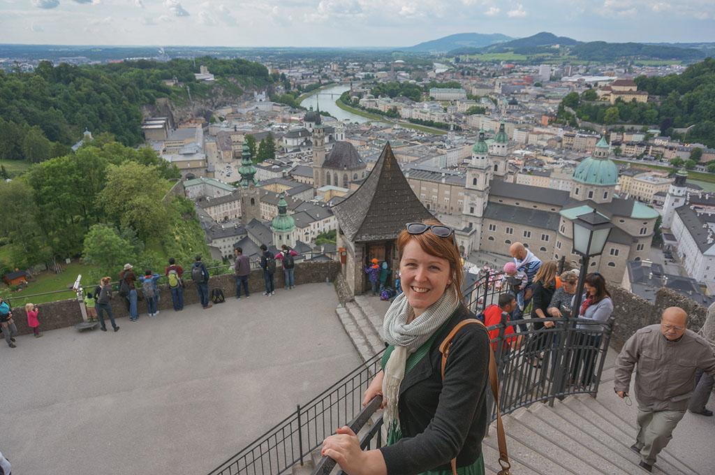 Gabby in Salzburg