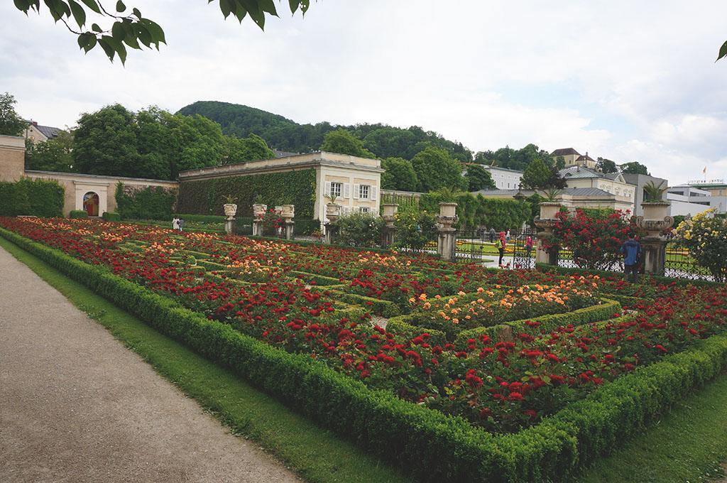 Salzburg Mirabell Palace Gardens