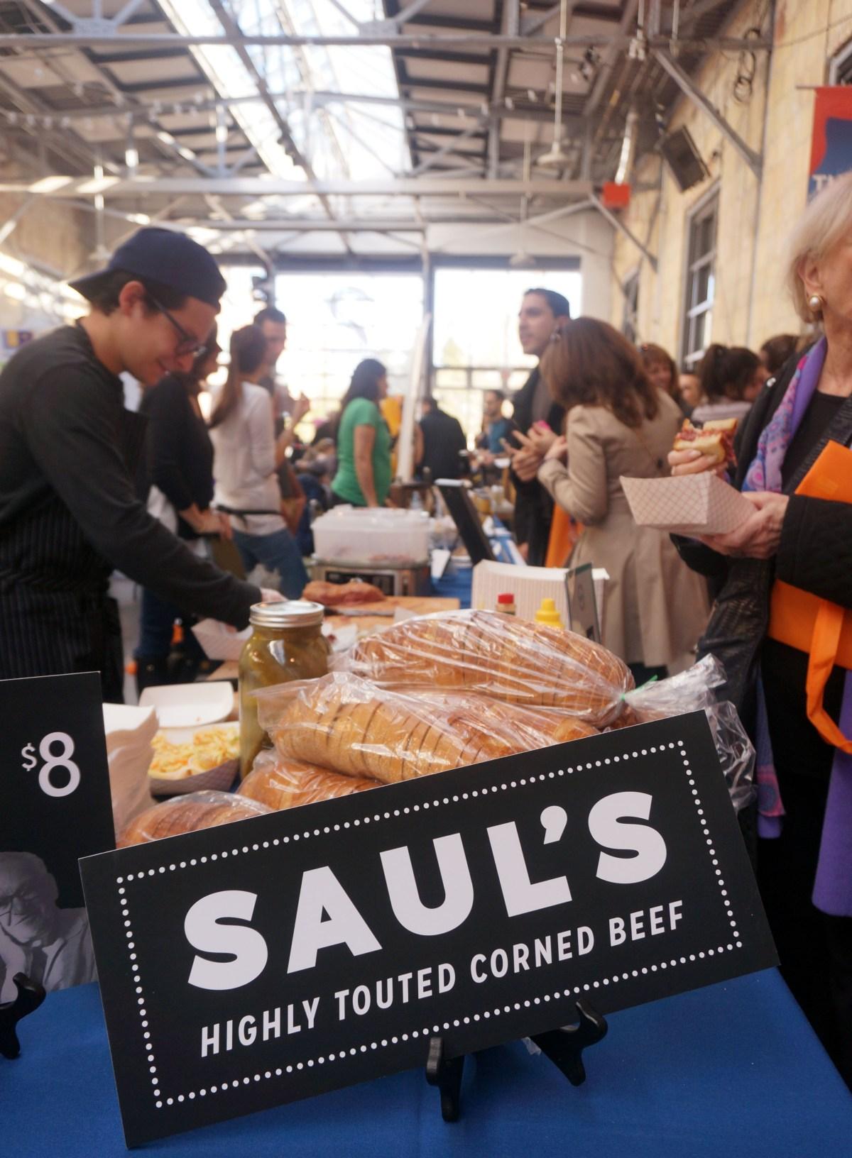 NoshFest Saul's Corned Beef