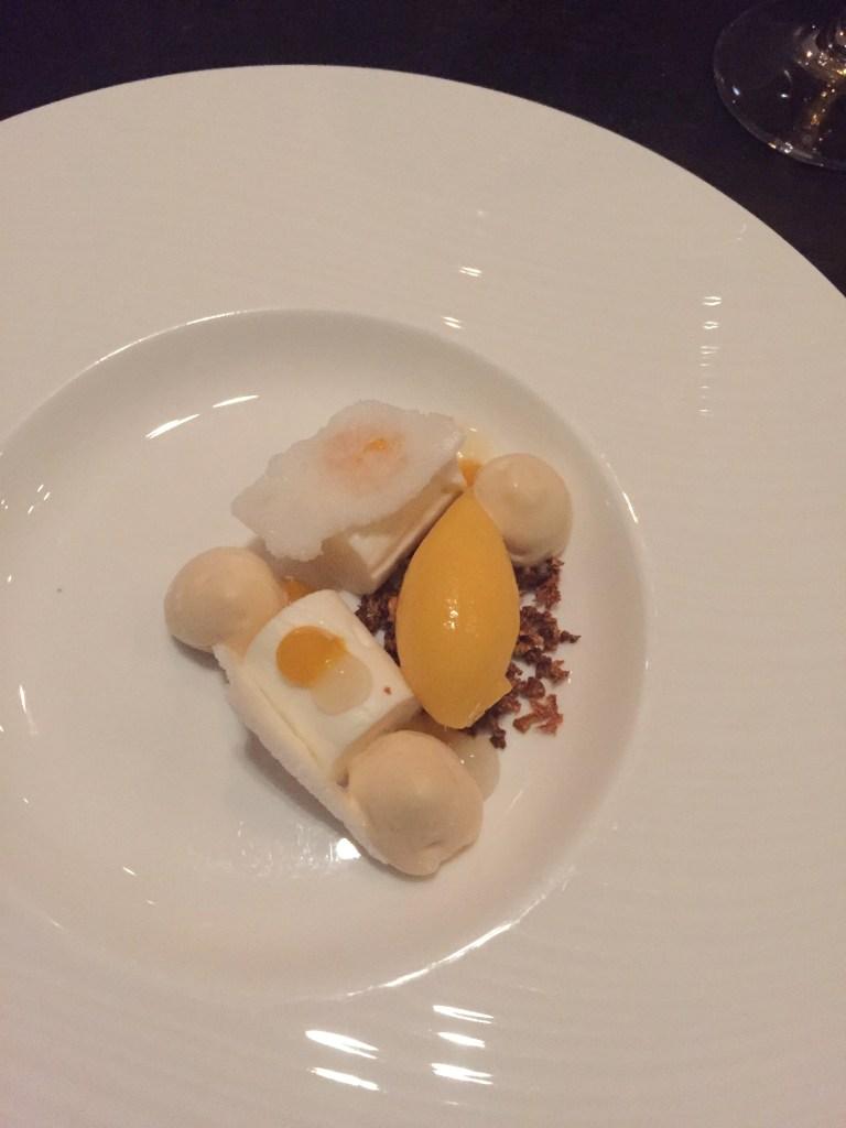 Alo squash dessert course
