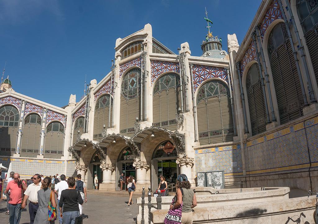 Valencia Market Exterior