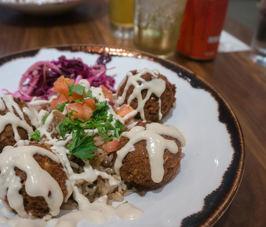 Souk Tabule's falafel