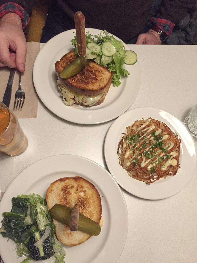 Patty Melts at the White Lily Diner