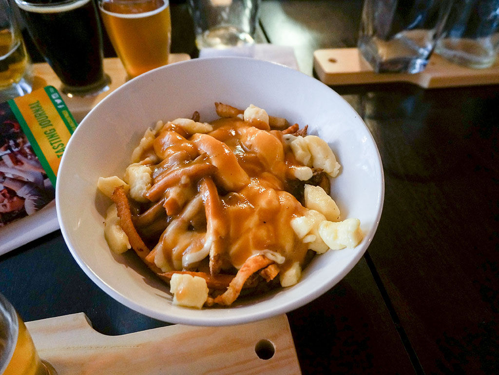 St. John's Beer Tours Poutine at The Fifth Ticket
