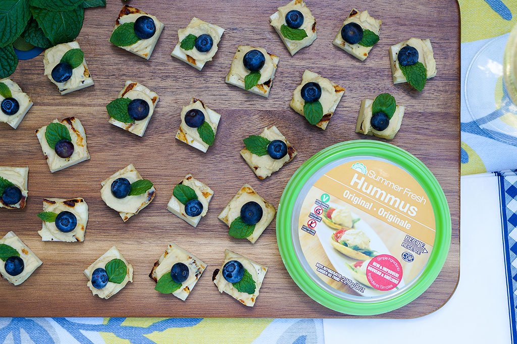 Summer Fresh Appetizer with Product