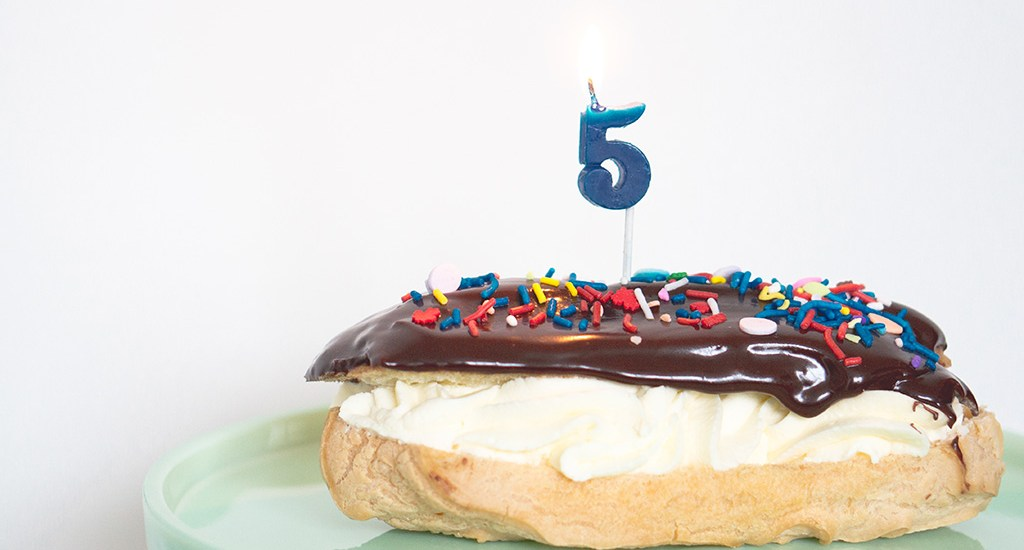 The Fifth Blogiversary Roundup: Five Top-5 Lists