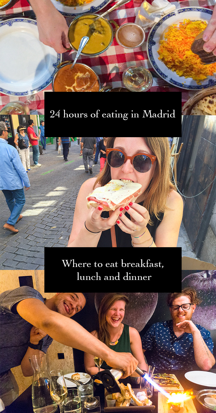 PINTEREST 24 Hours of Eating in Madrid