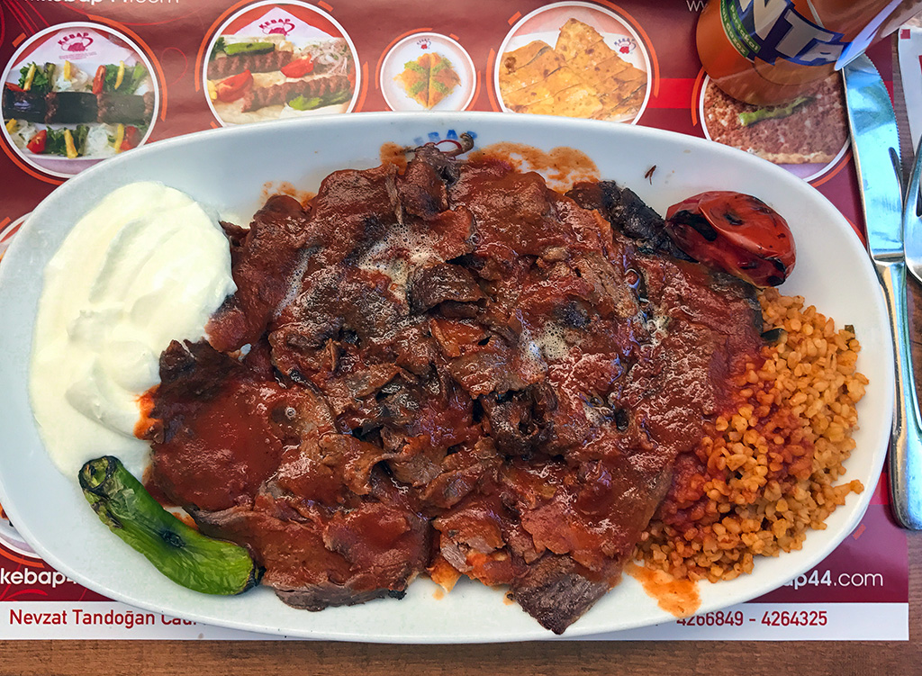Turkish Iskender Kebab.The Food Girl in Town