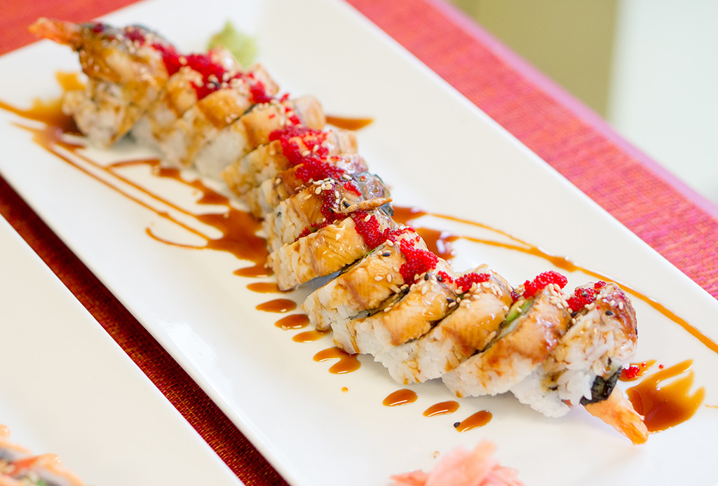 Kimchi & Sushi The Food Girl in Town Black Dragon Roll